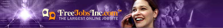 FreeJobsInc.com - The Largest Online Jobsite